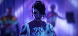 Still from Love, Death & Robots episode Sonnie's Edge