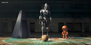 Still from Love, Death & Robots episode Three Robots