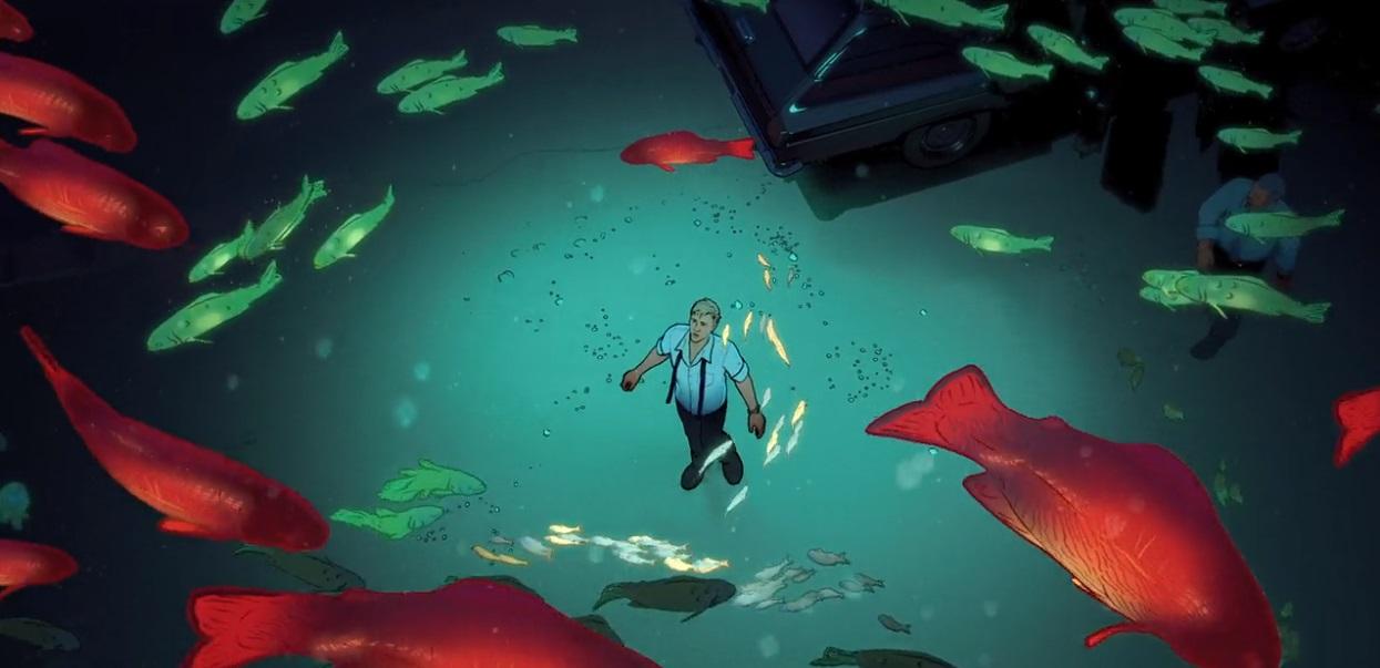 Off the Beaten Path | Love, Death & Robots S1E12 - Fish Night | CHICAGO  FILM SCENE