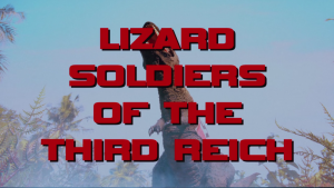 Still from Danger 5 episode Lizard Soldiers of the Third Reich
