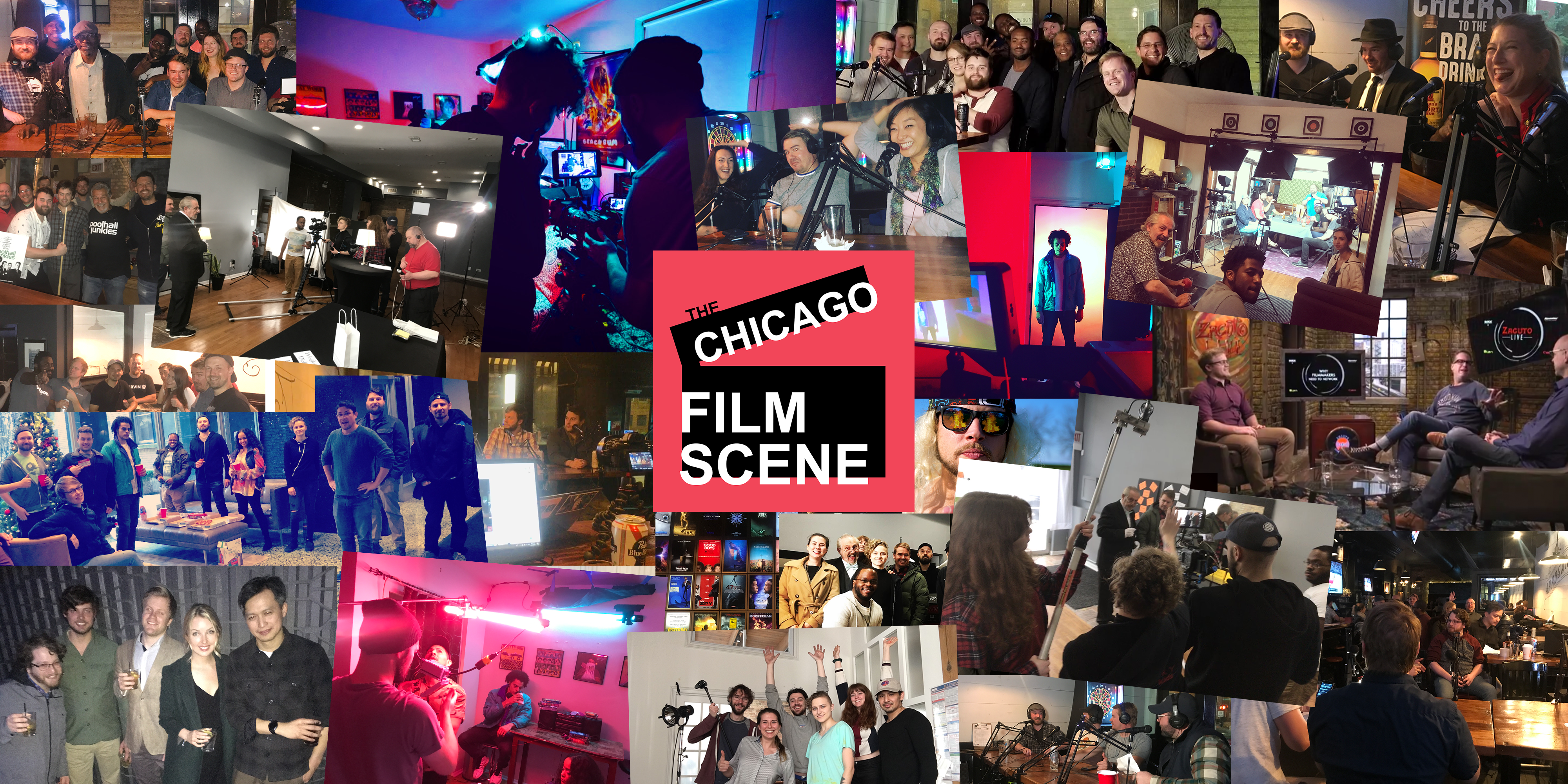 Chicago Film Scene Cover Photo