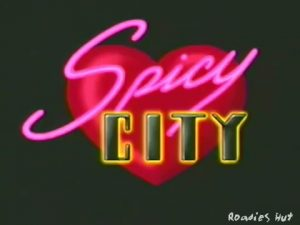 Spicy City intro screen