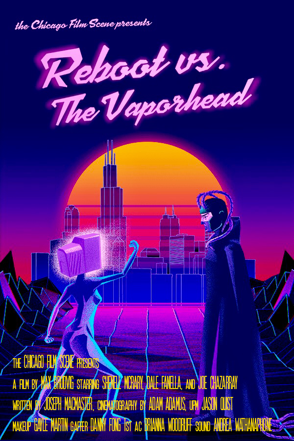 Reboot vs. The Vaporhead Official Poster