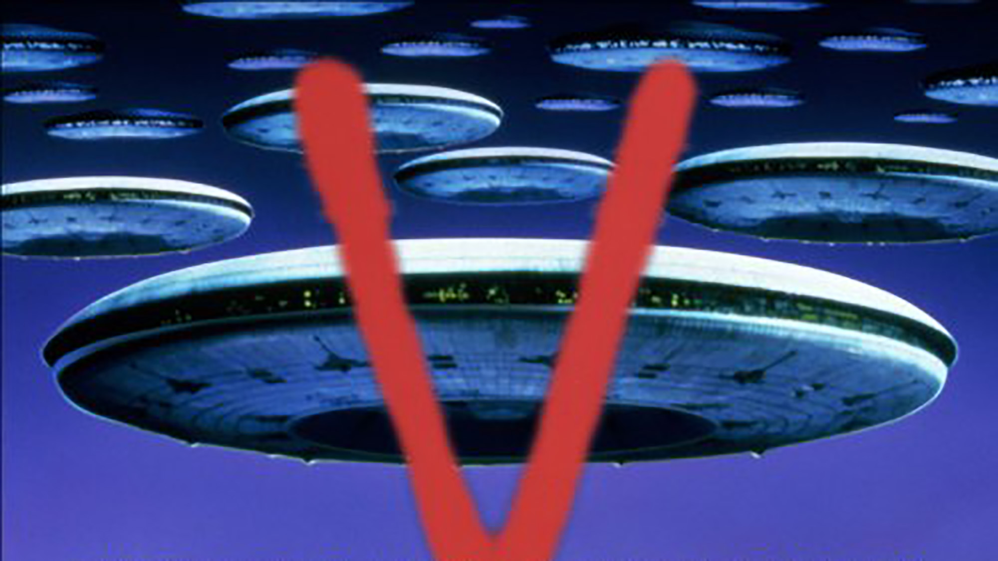 V The Original Miniseries Textless Poster
